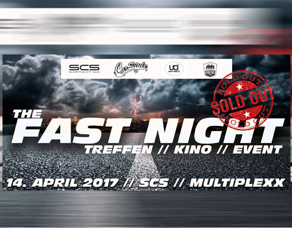 FAST NIGHT 2017: AUSVERKAUFT
