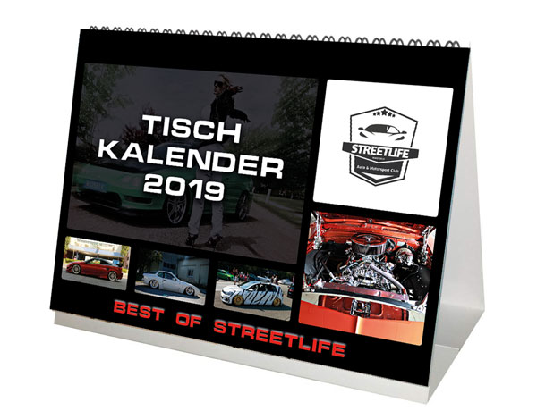 BEST OF STREETLIFE KALENDER 2019